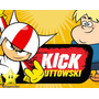 Kit Imprimible Doble De Riesgo Kick Buttowski Diseñá Tarjeta