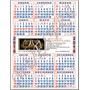 Almanaques Bolsillo 2014 Con Publicidad Laser Color