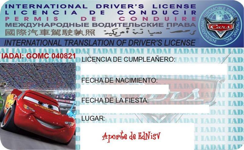 10 Tarjetas De Cumpleaños Cars - $ 38,00 en MercadoLibre