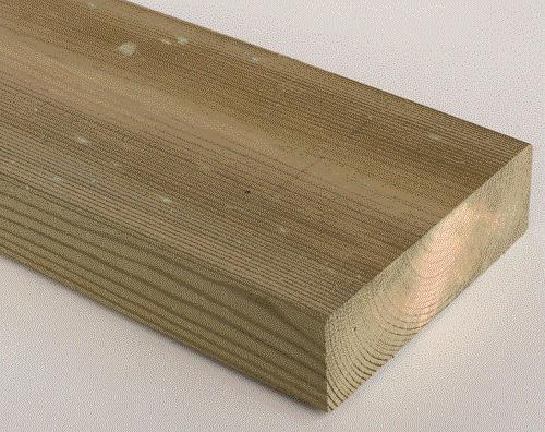 Tirante de 6x2 pulg x 3 30 mts madera tratada curada cca - Madera de pino tratada ...