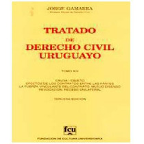 Gamarra 14 - Causa - Tratado De Derecho Civil Uruguayo
