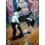 Lámina 45x30 Cm - Bailes Tipicos - Tango Del Rio De La Plata
