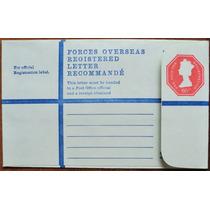 Osl Sello Sobre Inglaterra Entero Postal Forces Overseas