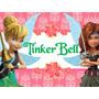 Invitaciones Tinker Bell Campanita Tarjetas ,cumples Y Mas