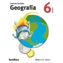Ciencias Sociales/geografia - 6to.primaria - Santillana