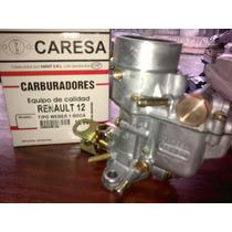 Carburador Caresa Renault 12 Weber 1 Boca Nuevo En Caja