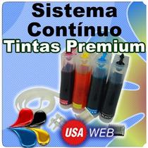 Sistema Continuo Canon Mp250-ip2700-mp280-mp230 X 3 Unidades