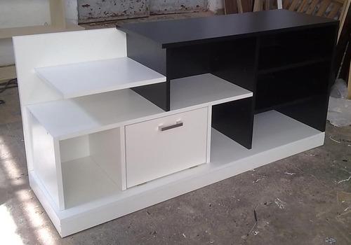 Rack minimalista mueble para tv lcd 32 42 50 modernos for Muebles modernos montevideo