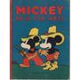 Mickey Far West Walt Disney 1936 Saturnino Calleja Vintage