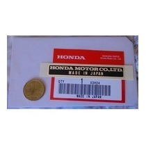 Emblema Honda Motors Co. Hondita Pc50 Corbex C70, Cb175, Etc