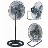 Ventilador 3 En 1 Xion Metal Potencia Aire Sensacion