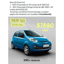 New Chery Qq Ok 100% Financiado Desde 10.490