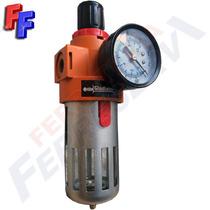 Filtro De Agua Regulador Presion Linea Aire Comprimido Fa500