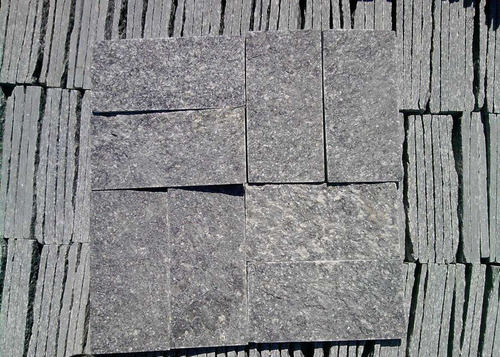 Piedra natural granito miracema gris baldosas decoraci n - Baldosas piedra natural ...