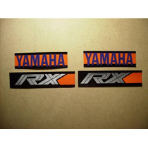 Tun Adhesivo En Vinilo Combinado Yamaha Rx En 4 Colores