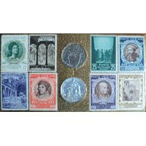 Osl Vaticano Serie De Sellos Y Monedas 1948