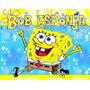 Invitaciones Bob Esponja Personalizadas, Cumpleaños Fiesta