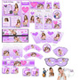 Dos Kit Imprimibles Violetta Totalmente Personalizables
