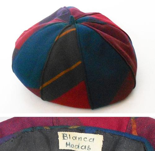 5b388ee35839d Antiguo Sombrero Dama Tipo Boina Ideal Colección-teatro
