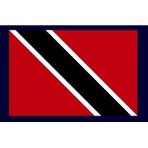 Bandera De Trinidad Y Tobajo - Lámina 45 X 30 Cm.
