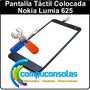 Pantalla Táctil Y Vidrio Colocada Nokia Lumia 625
