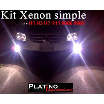 Kit Xenon Simple H1 H3 H7 H11 9005 9006 H27 Etc