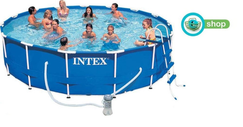 Piscina estructural armable intex 28234 14614l 457x107cm for Piscina estructural intex