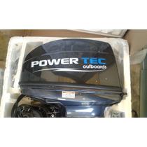 Motor Fuera De Borda 15 Hp Powertec