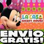 Kit Imprimible Minnie Rosa De La Casa De Mickey Mouse