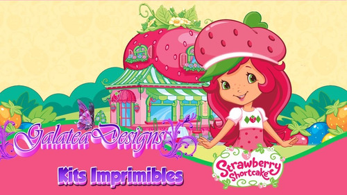 fd1735710 Kit Imprimible Frutillitas - Rosita Fresita, Tarjetas,cumple - $ 150 ...