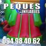 Castillos Inflablles Cama Elastica, Alquiler 2 Hs: $600: