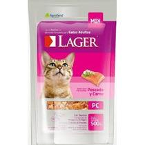 Lager Gato 10kg + 2pate +  Envio