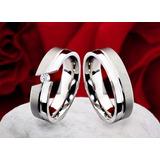 Alianzas- Bodas- Matrimonios-cintillos- Acero