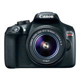 Camara Digital Canon Eos Rebel T6 Kit Oferta 12 Pagos