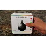 Google Chromecast 2  Nuevo  Oferta! 12 Pagos Mercadopago!