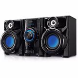 Equipo De Audio Minicomponente Punktal 3000w Pk548usb