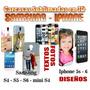 Carcasas Personalizadas Iphone Y Sansung Sublimadas 3d