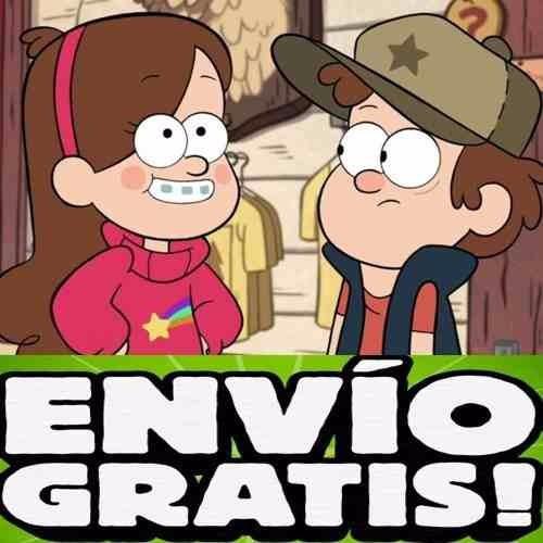 Kit Imprimible Gravity Falls Disena Tarjetas Cumples Y Mas 150