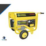 Generador Forest&garden 4,7 Kw Gg8500 Arranque Electrico !!!