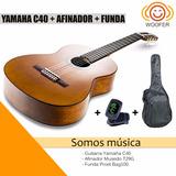¡promoción! Pack Guitarra Yamaha + Afinador + Funda