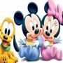 Kit Imprimible Mickey Bebe Diseñá Tarjetas, Cumples Y Mas