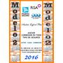Calendario Almanaque En Iman 2016 - Propaganda - Publicidad