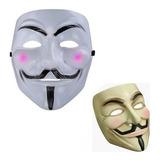 Careta Anonymous Con Elástico