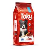 Comida Perro Toky Lager Adulto 25k + 2pate + Snacks