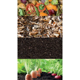 Tierra Compost Grueso/fino Orgánico Natural Mínimo 11 Bolsas