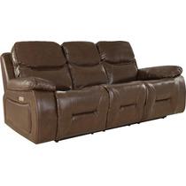 Sillon 3 Cuerpos Sofa Chocolate Reclinable Living Divino en venta en ...