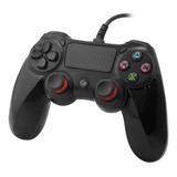 Joystick Control Mando Ps4 Negro Compatible Cableado Jostin