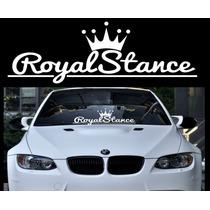 Royal Stance Adhesivo Vinilo Para Auto Parabrisa Jdm Calco En Venta