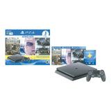 Consola Sony Ps4 Mod. Hit 5 1tb+3 Juegos