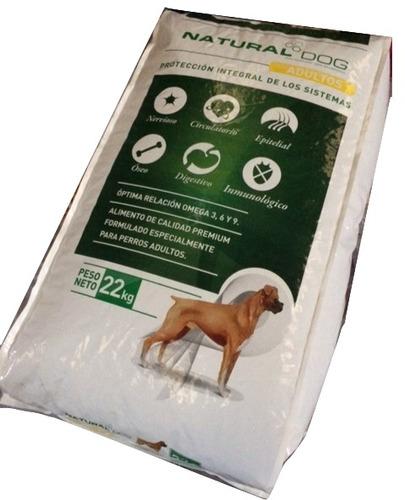Racionya Natural Dog 22kg+pala +3 Desparasitante +snack